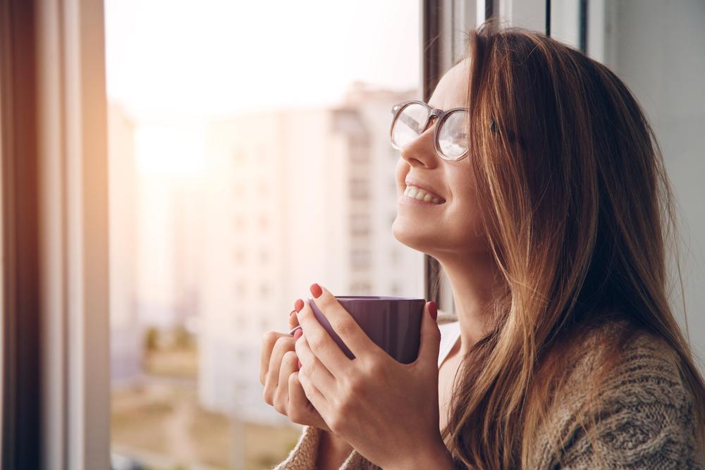 Mujer sonriente. | Foto: Shutterstock