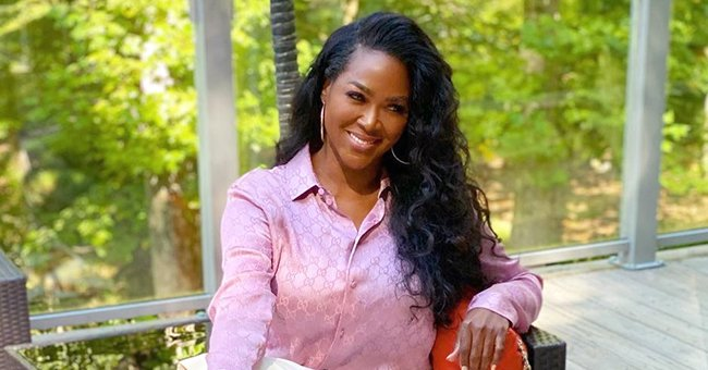 Check Out Kenya Moore's Awesome Transformation as She Flaunts Her Figure in a Tight Black Dress
