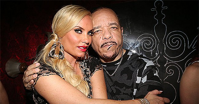 Ice-T's Wife Coco Showcases Her Enviable Cleavage & Curves in Skimpy Top & Shredded Leggings at Rock Fest