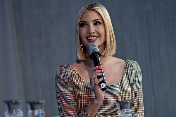 Ivanka Trump, senior adviser to U.S. President, speaks during a discussion at the annual meetings of the International Monetary Fund and World Bank Group  | Photo: Getty Images