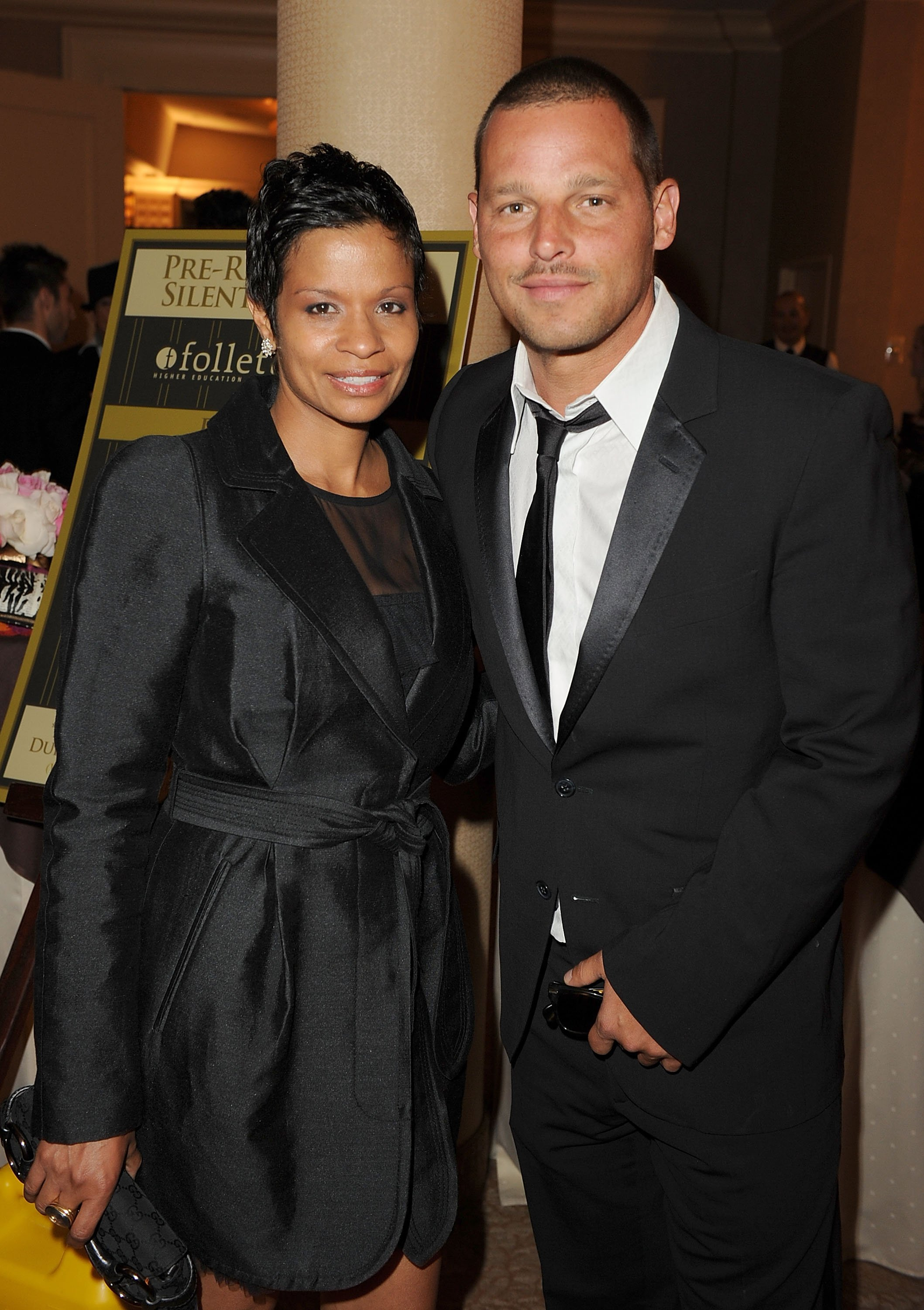 Justin Chambers and his wife Keisha Chambers attend the 2nd Annual Thirst Project Gala at The Beverly Hilton hotel on June 28, 2011, in Beverly Hills, California. | Source: Getty Images.