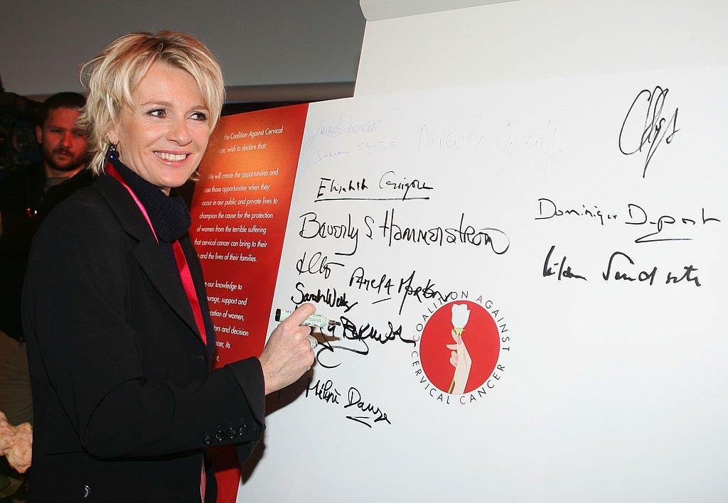 La présentatrice Sophie Davant en 2007. l Source : Getty Images