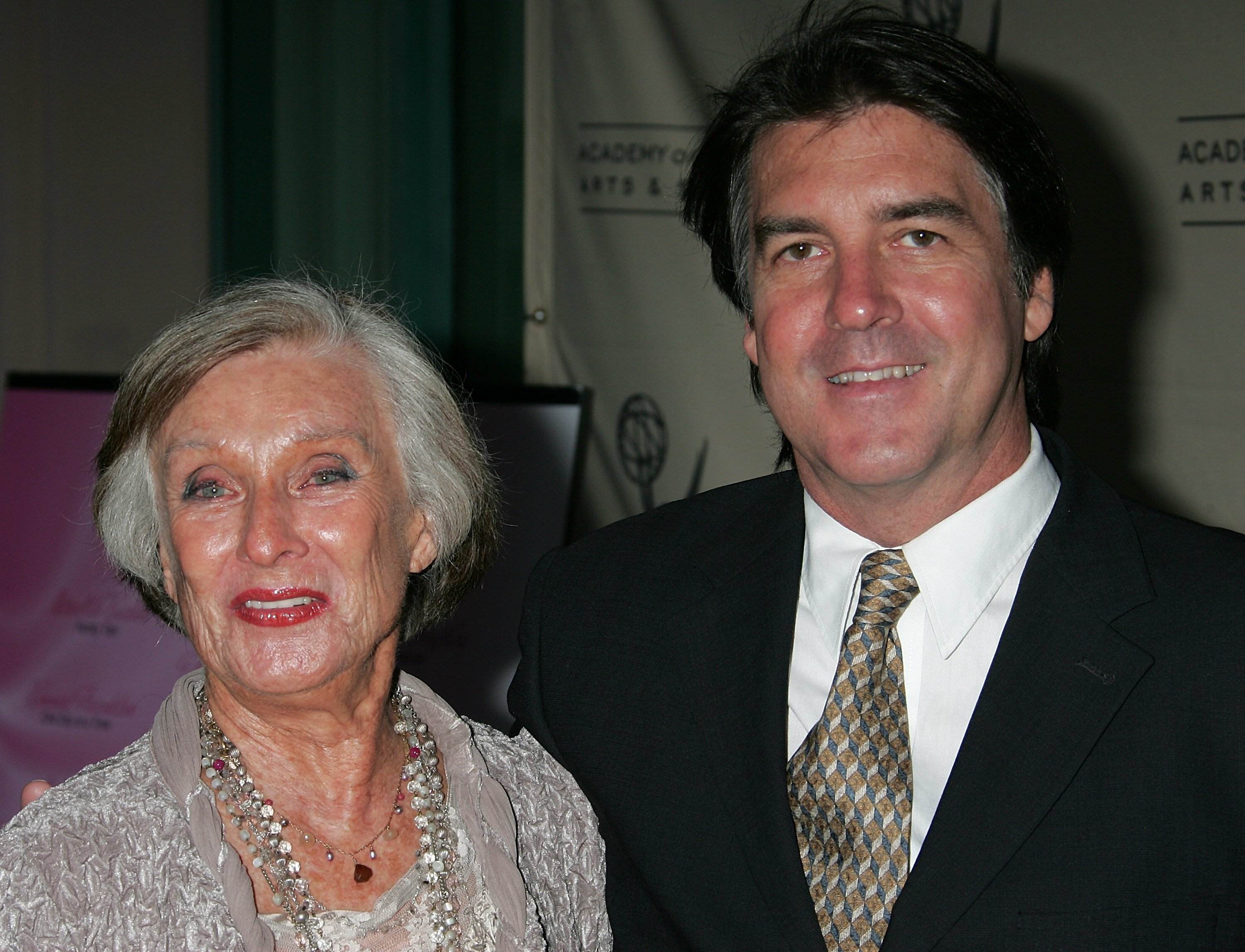 Cloris Leachman and her son George Englund Jr. attend 'A Mother's Day Salute to TV Moms' at the Academy of Television Arts & Sciences on May 6, 2008 in North Hollywood, California | Photo: Getty Images