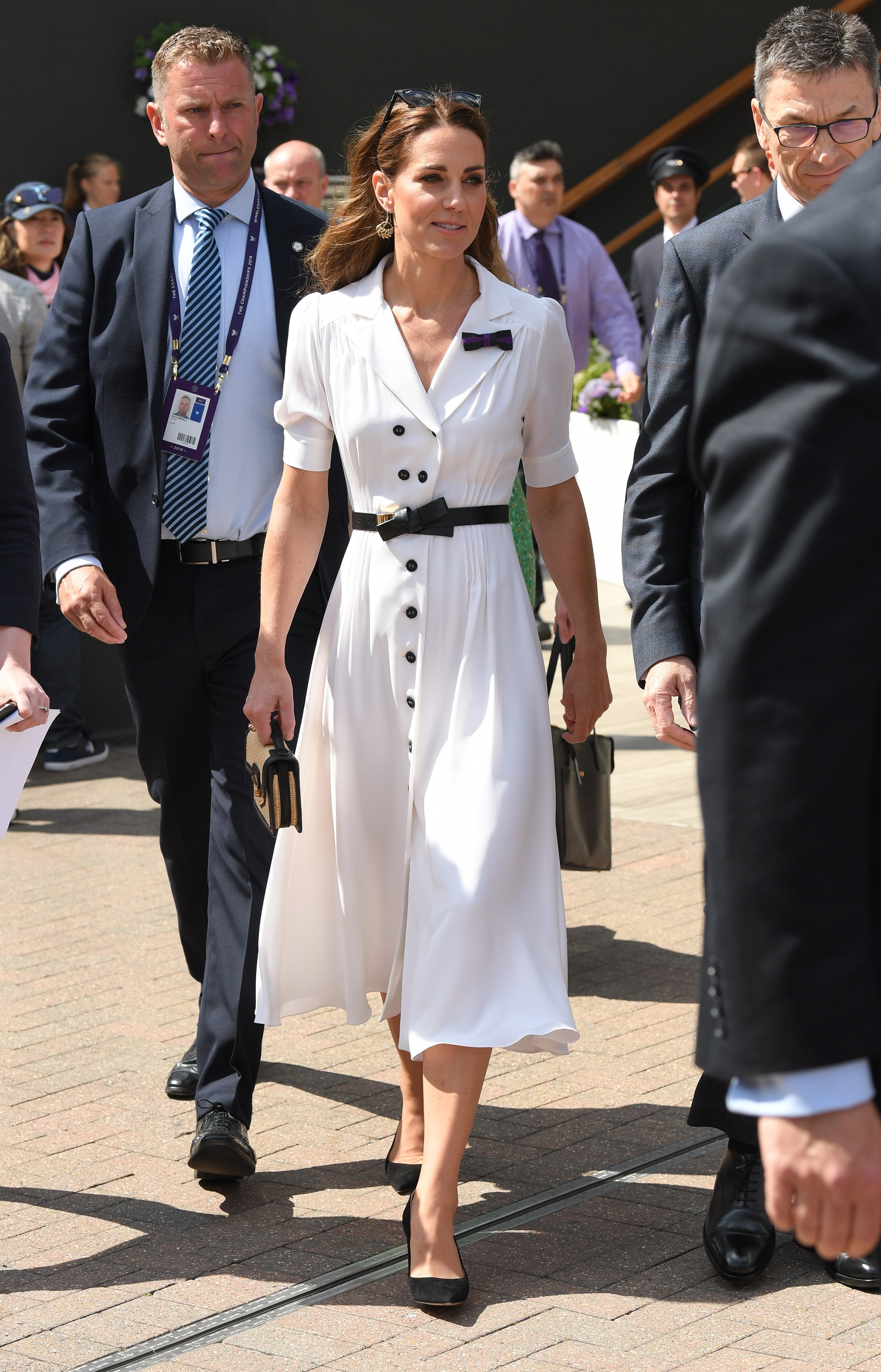 Kate Middleton attends Day 2 of Wimbledon in July 2019 | Photo: Getty Images