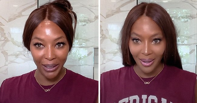 Watch Naomi Campbell as She Shares Her 10 Minute Beauty Routine & Makeup Tips in a Video