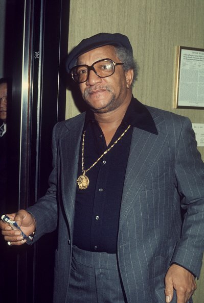 Redd Foxx wearing a blue pinstripe suit; circa 1970; New York | Photo: Getty Images