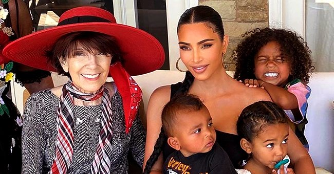 See How Kim Kardashian and Family Celebrated Her Grandma Mary Jo's 86th Birthday in San Diego