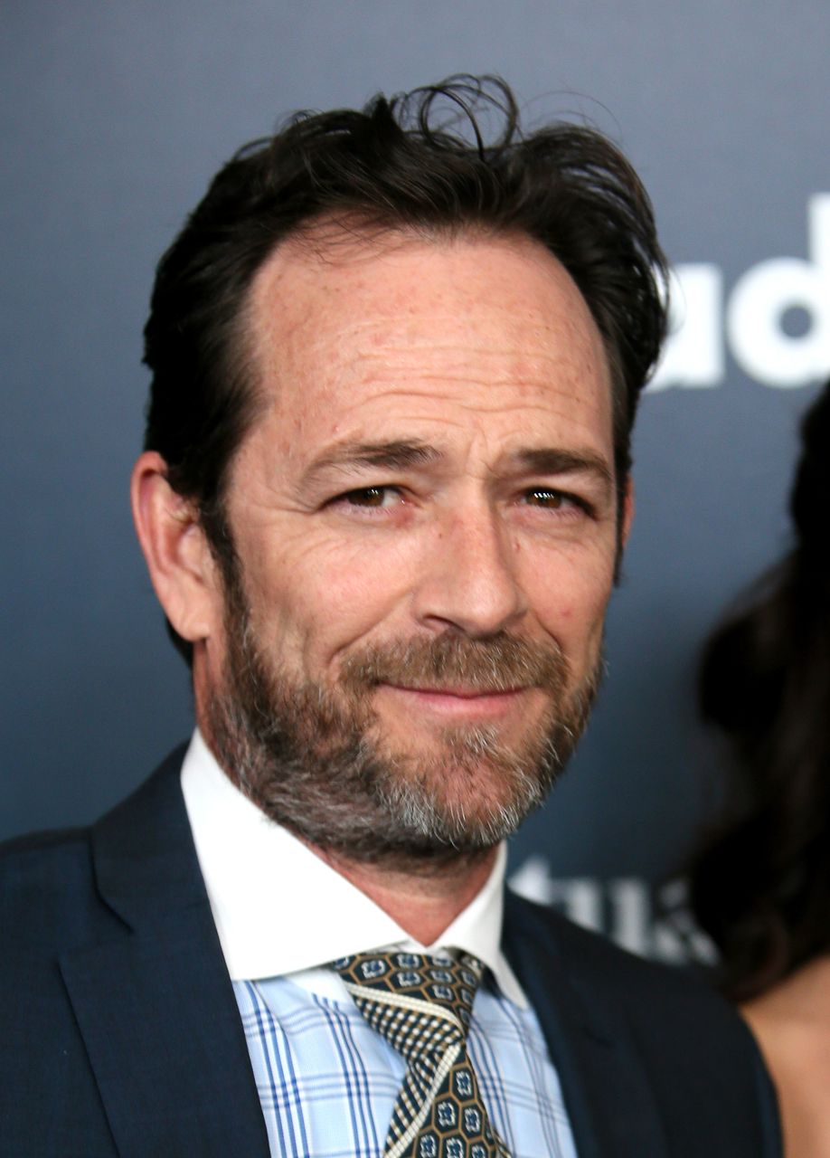 Luke Perry attends the 28th Annual GLAAD Media Awards. | Source: Getty Images