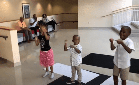 """Kids performing to a song, """"We Did It"""" : Photo: YouTube/Good Morning America"""