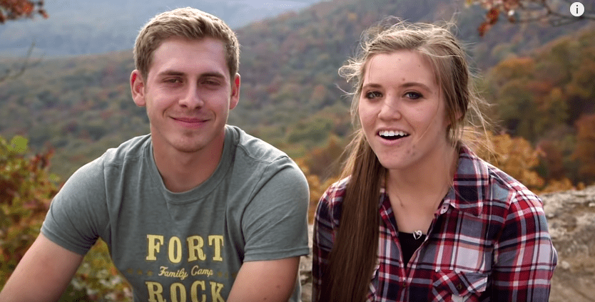 Joy-Anna Duggar with husband, Austin Forsyth talking about their relationship during an interview on TLC | Photo: YouTube/TLC