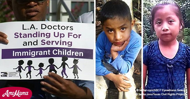 Doctors rally over healthcare problems after two migrant children died at the border