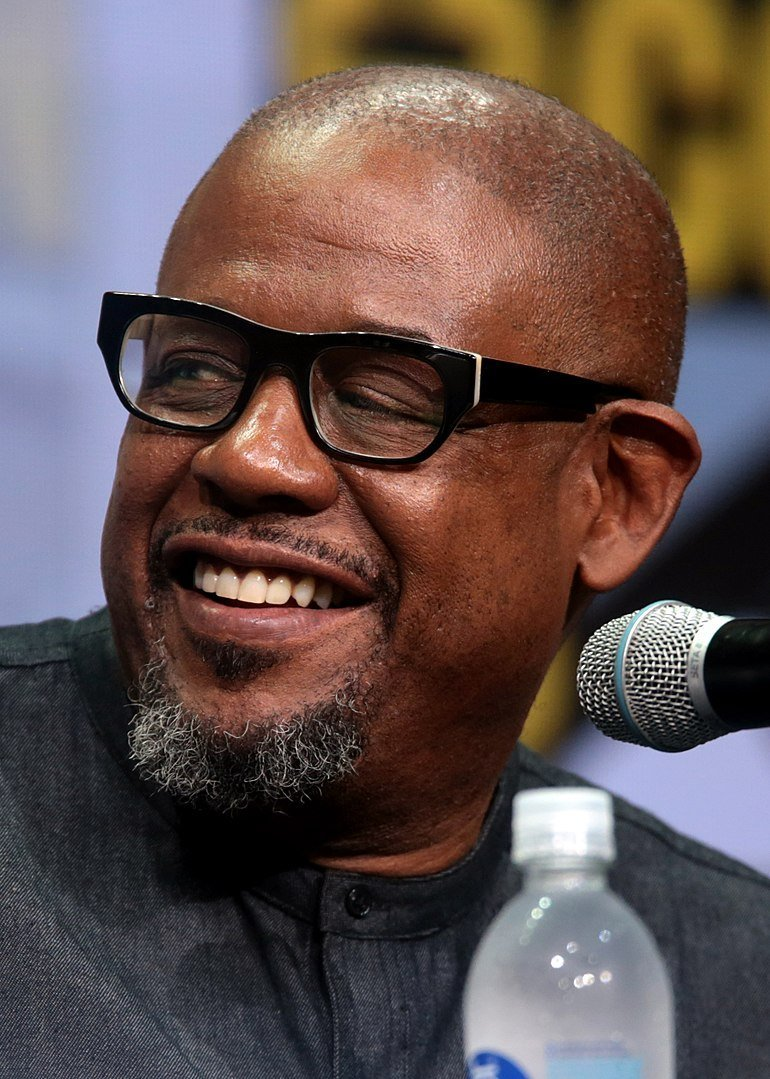 Forest Whitaker speaking at the 2017 San Diego Comic-Con International in San Diego, California | Photo: Wikimedia Commons
