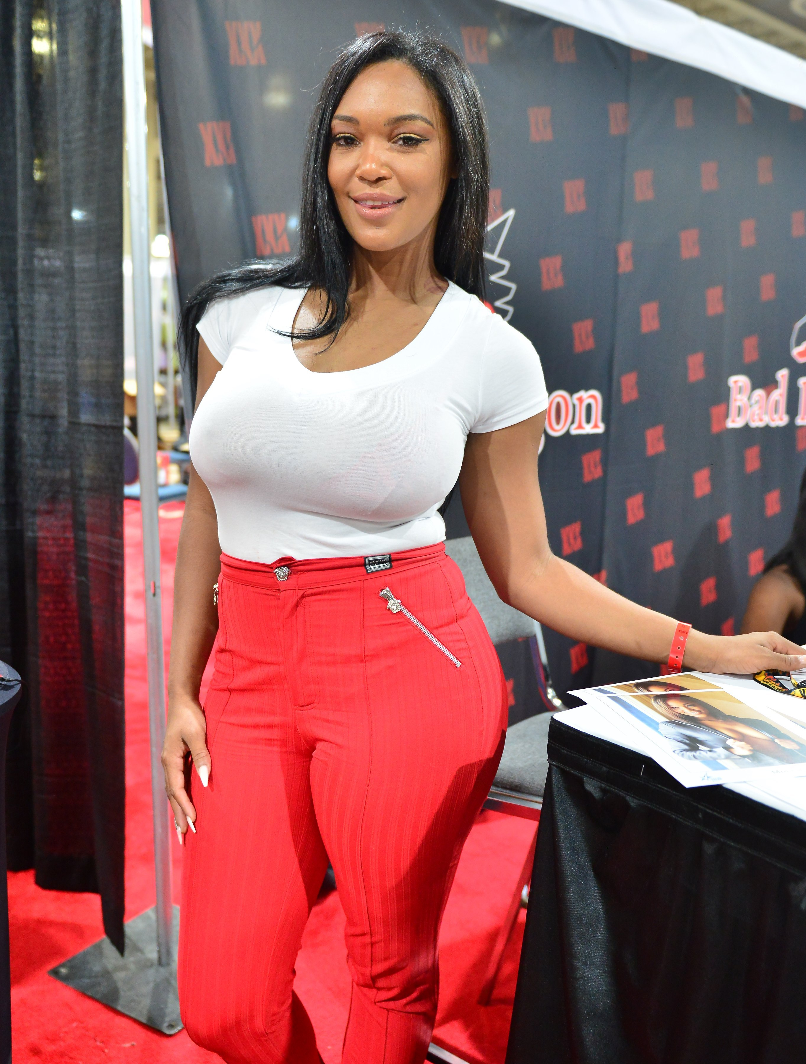 Montana Fishburne attends the EXXXOTICA Expo 2018 on July 21, 2018 in Miami, Florida | Photo: Getty Images