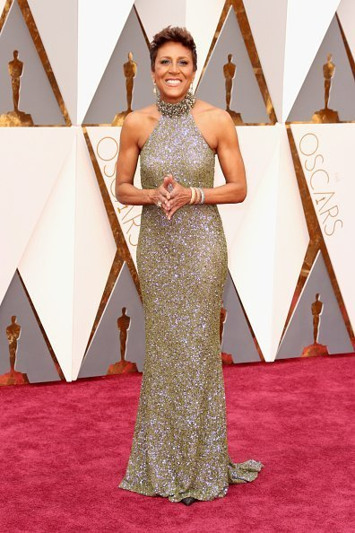 Robin Roberts attends the 88th Annual Academy Awards on February 28, 2016 | Photo: Getty Images
