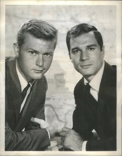 Martin Milner (Left) and George Maharis (Right) starred in Route 66. | Photo: Pinterest.
