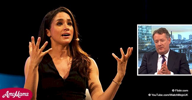 Meghan Markle was called a 'ruthless social climbing actress' in accusatory material by a TV host