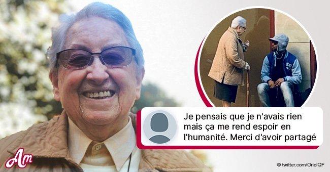 L'histoire émouvante d'une nonne et d'un sans-abri à Barcelone est devenue virale
