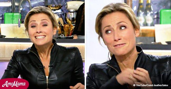 Anne-Sophie Lapix a commis une grave erreur dans un communiqué de presse en direct et les téléspectateurs ne pouvaient pas la manquer