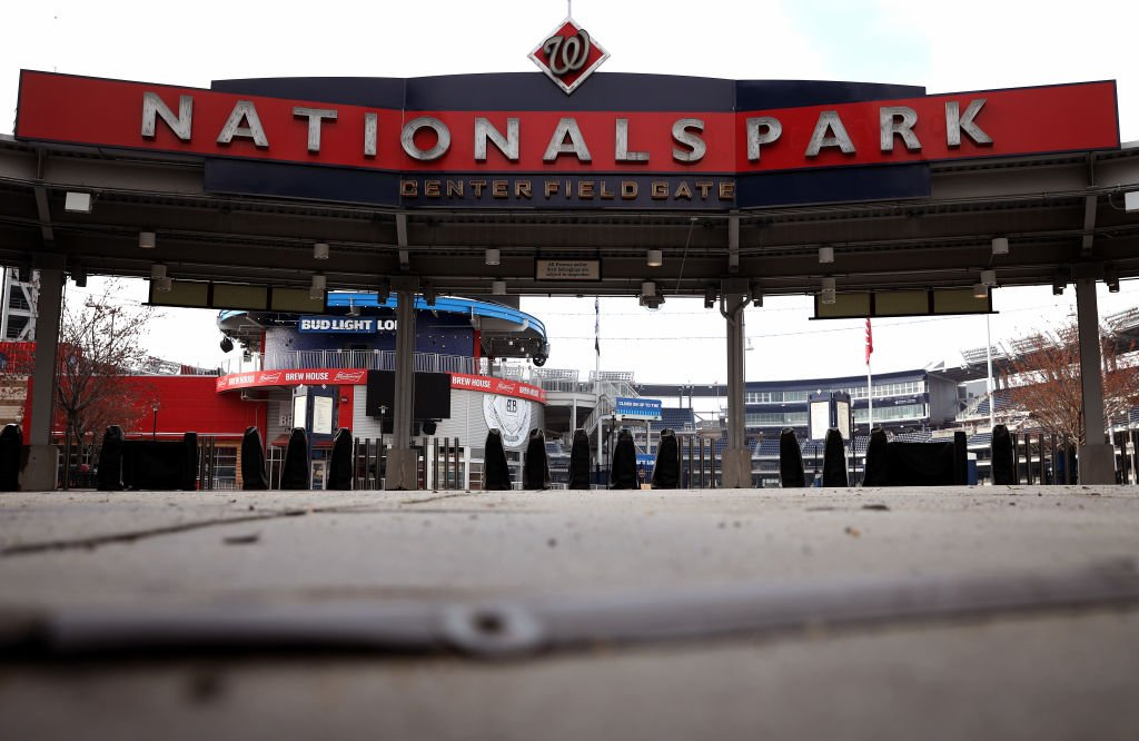 Home to World Series Champion Washington Nationals, Nationals Park empty and scheduled to reopen March 26, 2020 in Washington, DC. | Photo: Getty Images