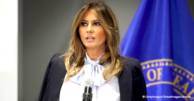 Melania's famous slogan 'Be Best' is called 'illiterate' as FLOTUS gets advised not to use it