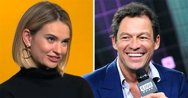 Lily James Addresses Being Spotted Kissing Dominic West in a New Interview