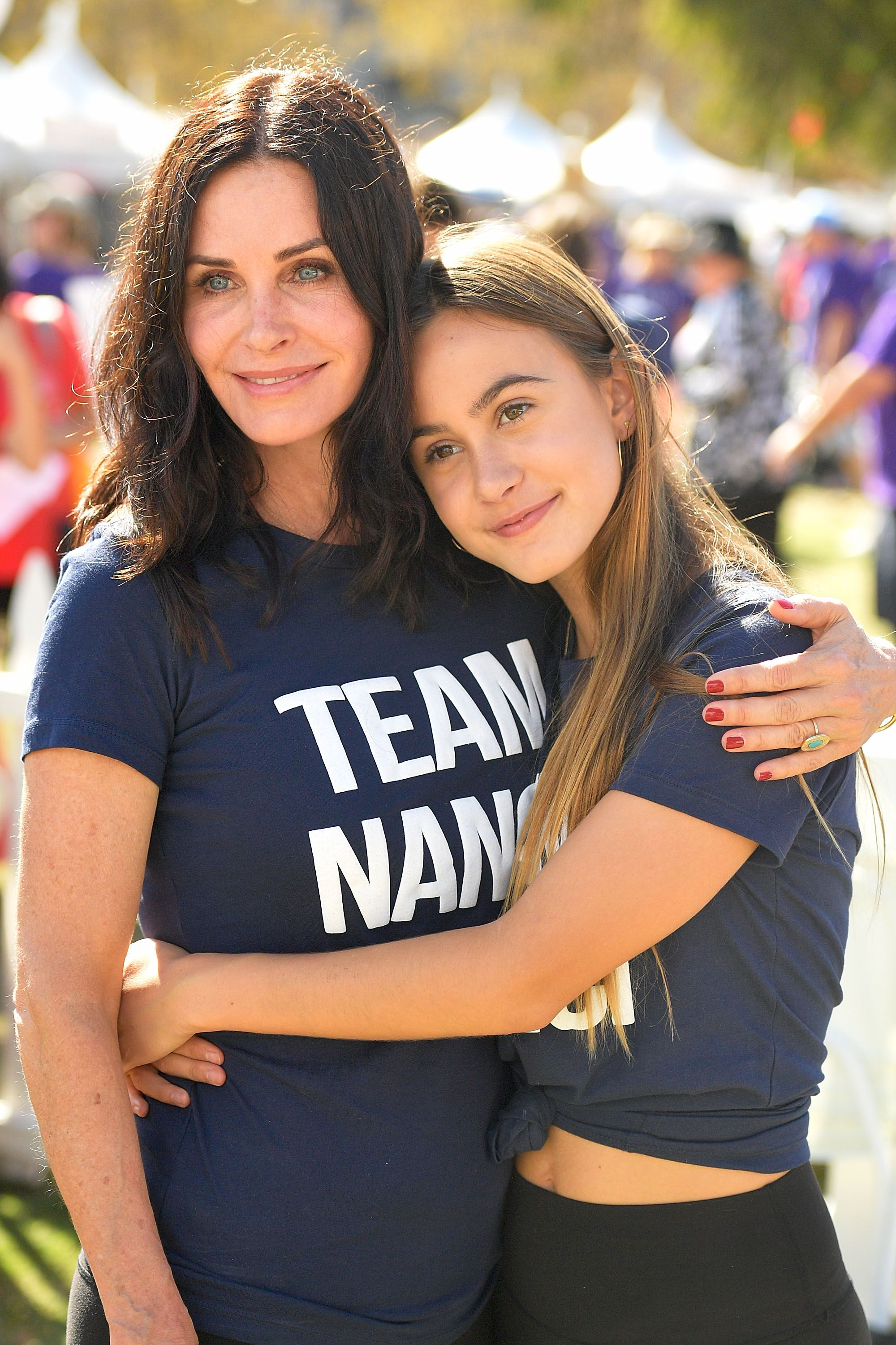 Courteney Cox and daughter Coco Arquette at the15th Annual LA County Walk to Defeat ALS in 2017 in Los Angeles | Source: Getty Images