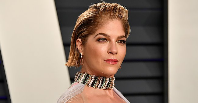 Selma Blair Flaunts Killer Curves in Black Bodysuit as She Poses with a Cane Amid Battle with MS