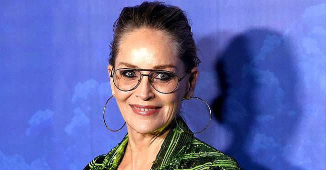Sharon Stone Shows off Her Figure in a Black Swimsuit in New Instagram Post