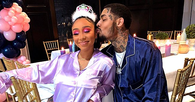 Tiny Harris' Daughter Zonnique Pullins Looks Happy in New Pics with Bandhunta Izzy Following Their Pregnancy Reveal