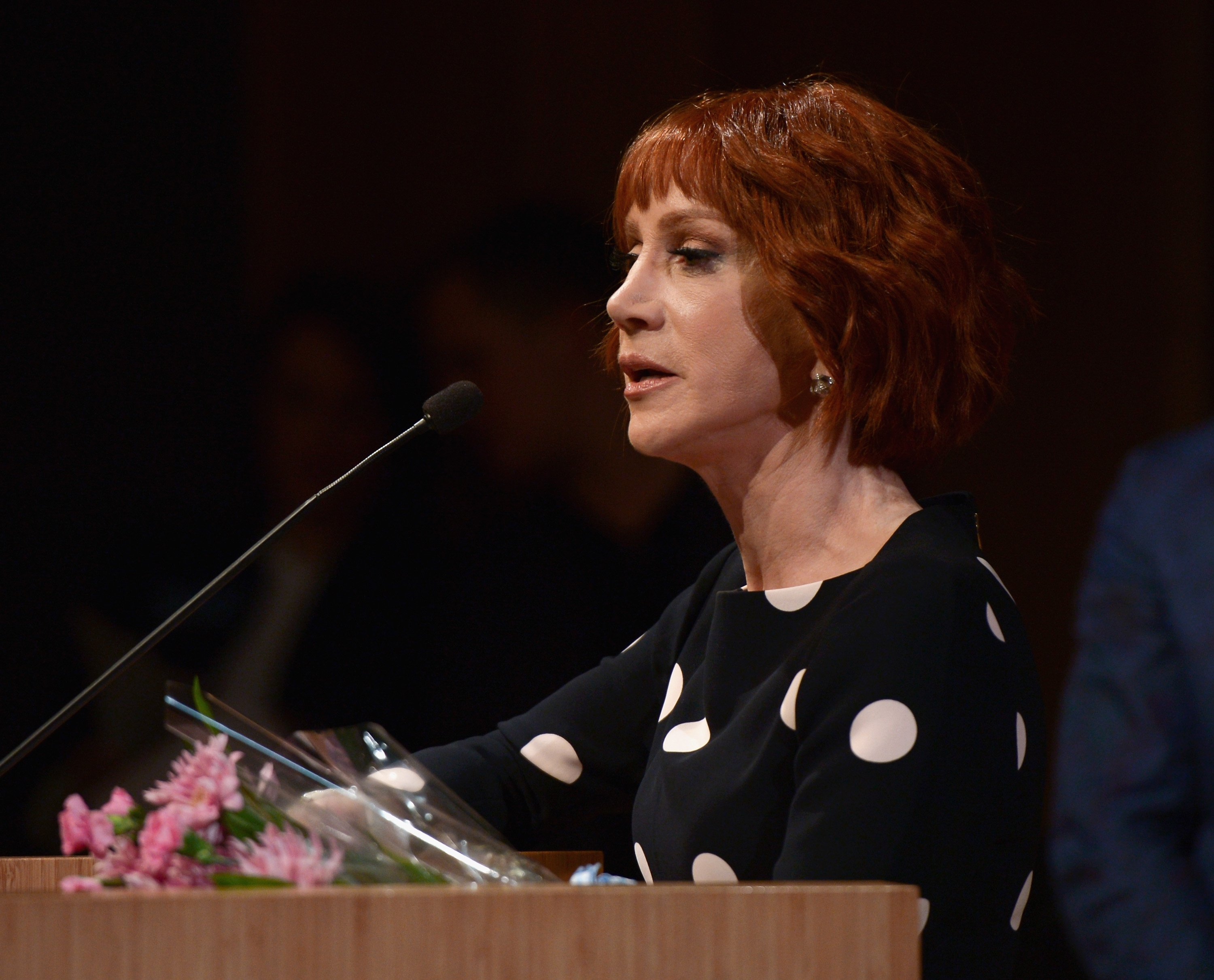 Comedian Kathy Griffin attends the West Hollywood Rainbow Key Awards at City of West Hollywood's Council Chambers on June 5, 2018 in West Hollywood, California   Photo: Getty Images