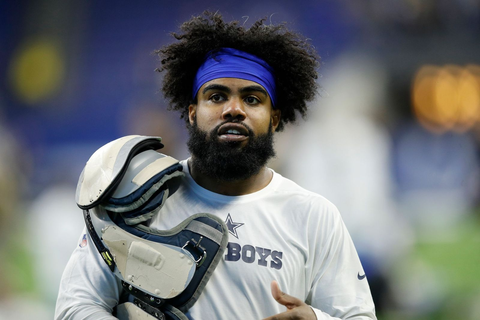 Ezekiel Elliot after a loss to the Indianapolis Colts at the Lucas Oil Stadium on December 16, 2018, in Indianapolis, Indiana   Photo: Joe Robbins/Getty Images