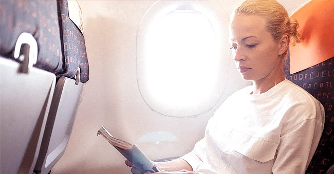 Daily Joke: A Blonde Woman Flies to New York with a Ticket for the Economy Section