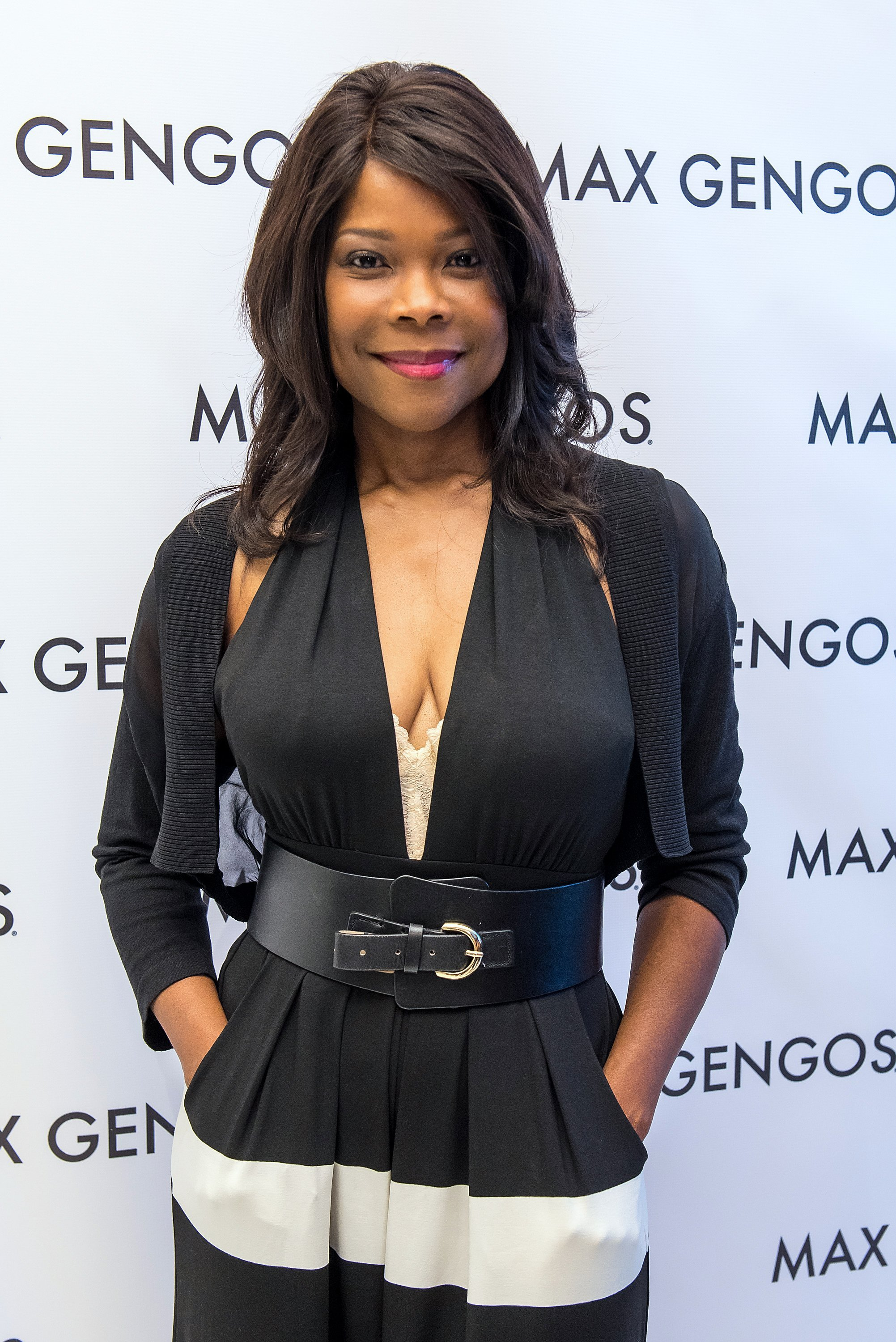Angela Robinson at New York Fashion Week on Sept. 11, 2015 | Photo: Getty Images