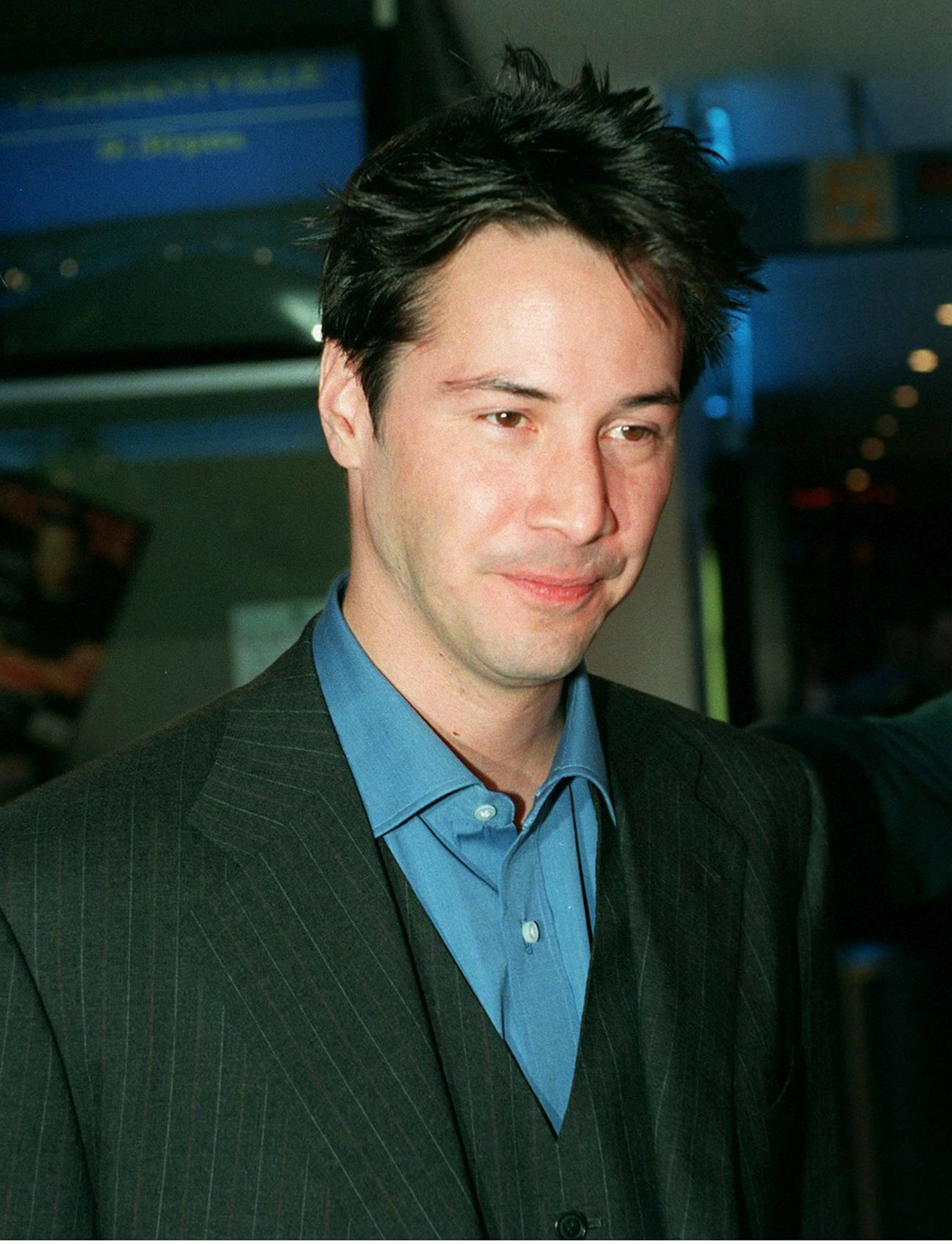 Keanu Reeves attends the Australian Premiere of The Matrix in Sydney, Australia, in April 1999. | Source: Getty Images.