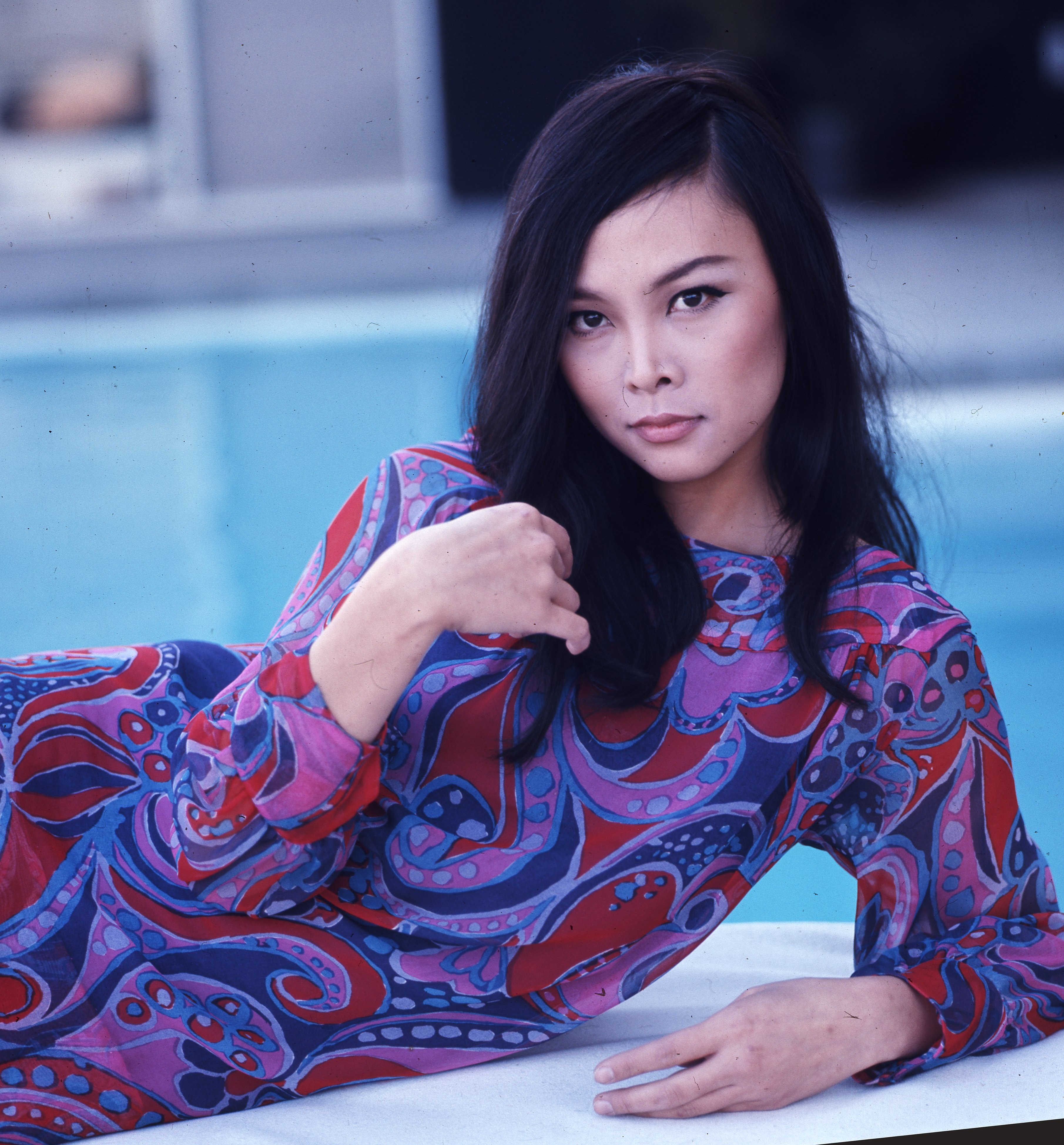 Actress Irene Tsu poses for a photo in Hollywood in March 1967 | Photo: Getty Images