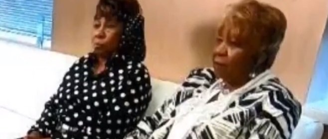 Rosie Brooks and Brenda Bennett-Johnson, sisters who took 'Brother' off life  support.| Photo: YouTube/ Celebrity Daily News.
