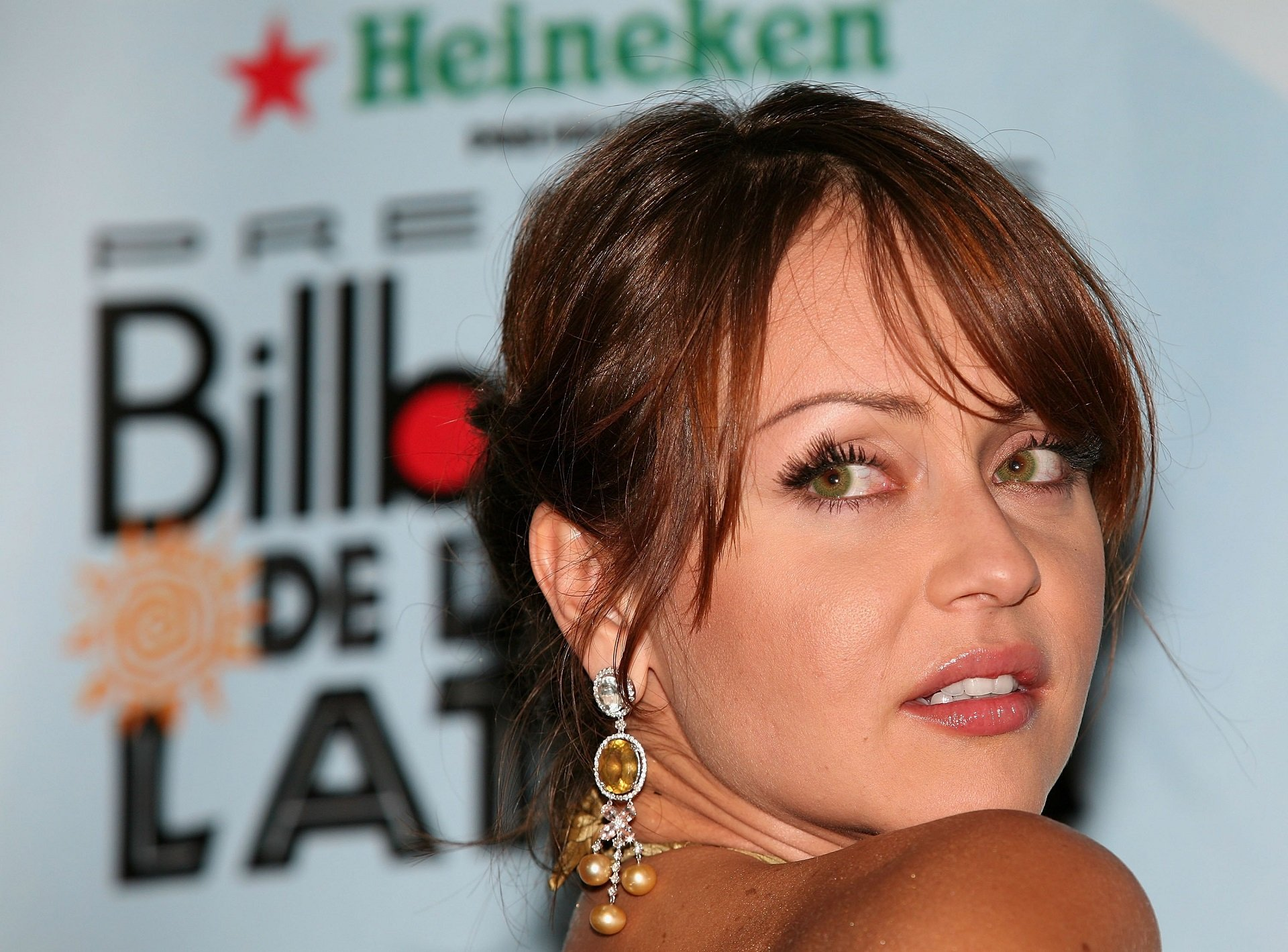 Gaby Spanic en los Premios Billboard 2006 en el Hard Rock Hotel de Hollywood, Florida || Fuente: Getty Images