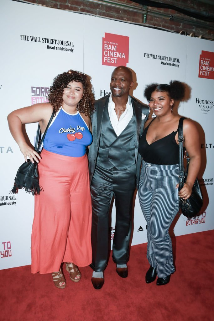 "Tera Crews, Terry Crews and Wynfrey Crews during the 10th Annual BAMcinemaFest Opening Night Premiere Of ""Sorry To Bother You"" at BAM Harvey Theater 