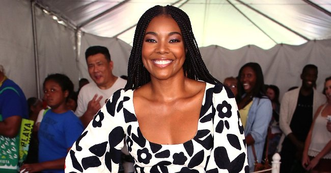 Gabrielle Union's Daughter Kaavia James Throws Shade with the Cutest Frown in a Lemon-Print Outfit