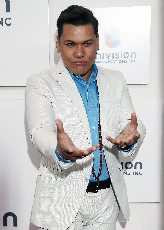 Víctor Florencio asiste a la Presentación Upfront de Univisión en Espace, en mayo de 2013, en Nueva York || Fuente: Getty Images