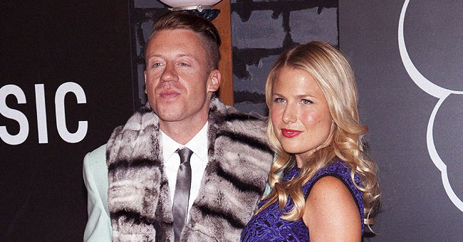 Macklemore and Tricia Davis pictured at the 2013 MTV Video Music Awards, New York City.   Photo: Getty Images