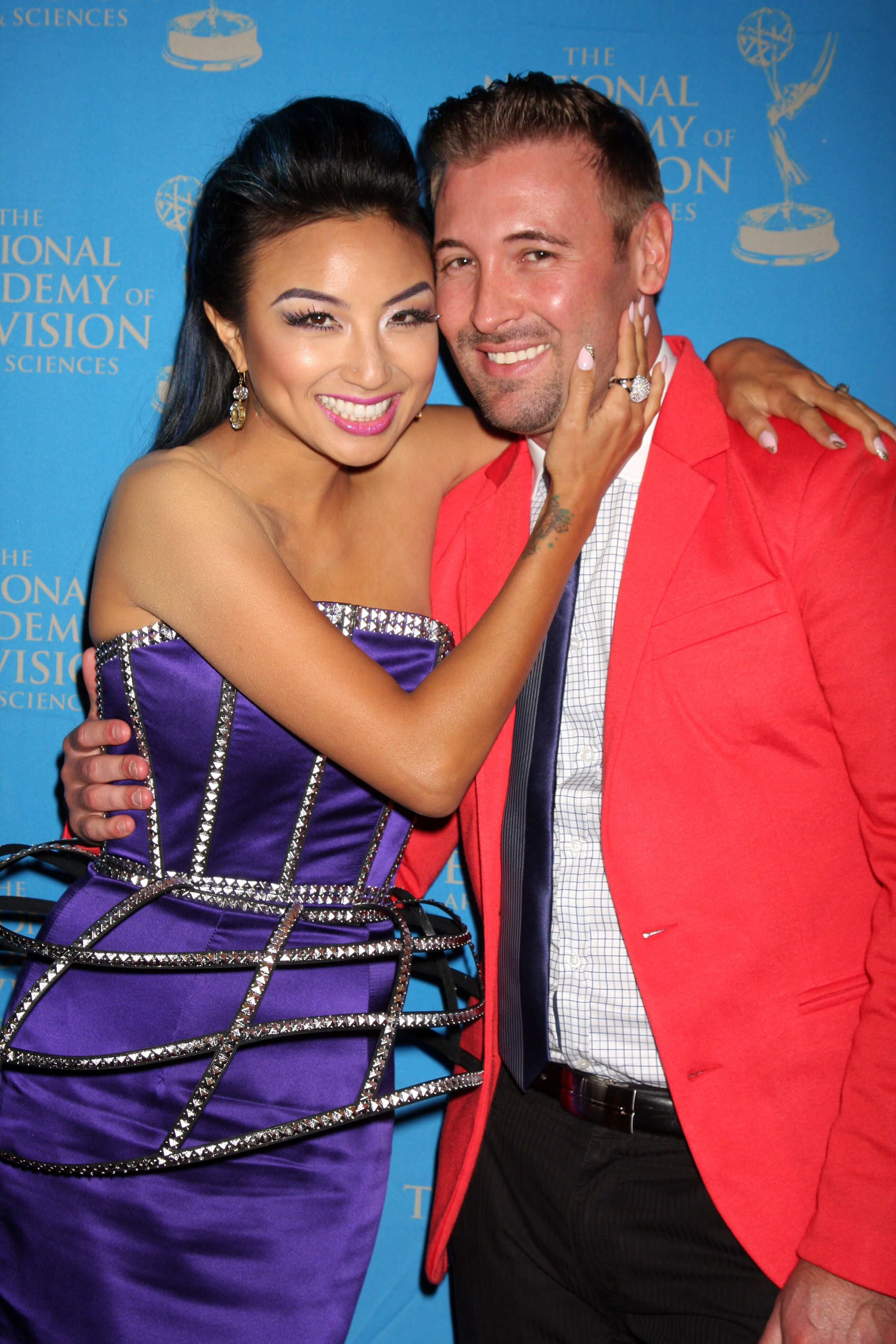 Jeannie Mai and ex-husband Freddy Harteis | Source: Getty Images/GlobalImagesUkraine