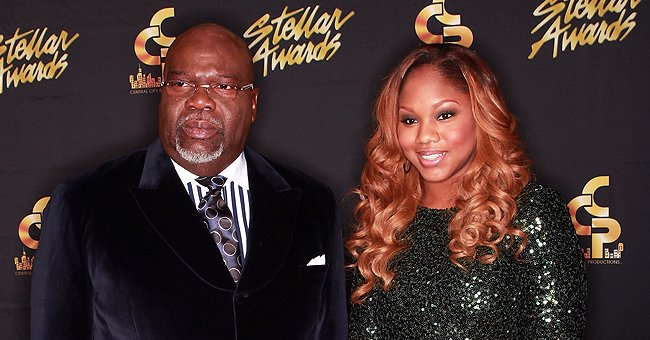 TD Jakes' Daughter Sarah Shares Heart-Melting Photo of Her Husband & Daughter Riding a Bike