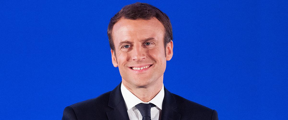 Pourquoi Emmanuel Macron a embrassé un homme chauve lors des élections européennes
