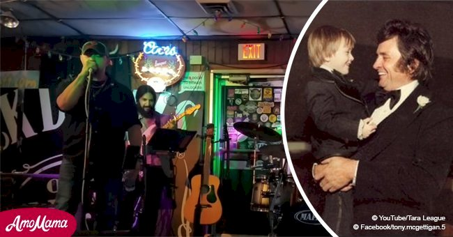 Johnny Cash's grandson is also a singer, and his tender cover of granddad's song is pure gold