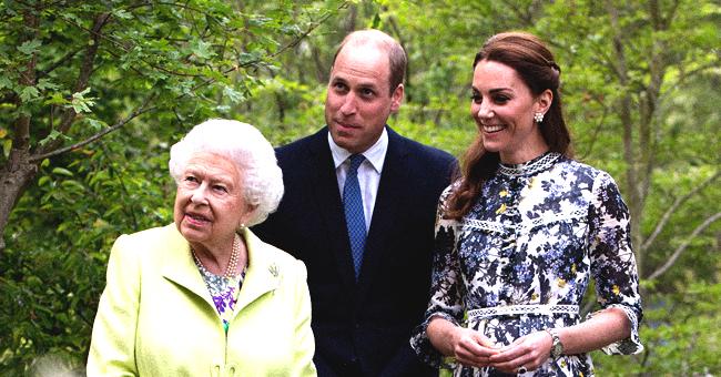 Kate Middleton accueille la reine avec un baiser cordial