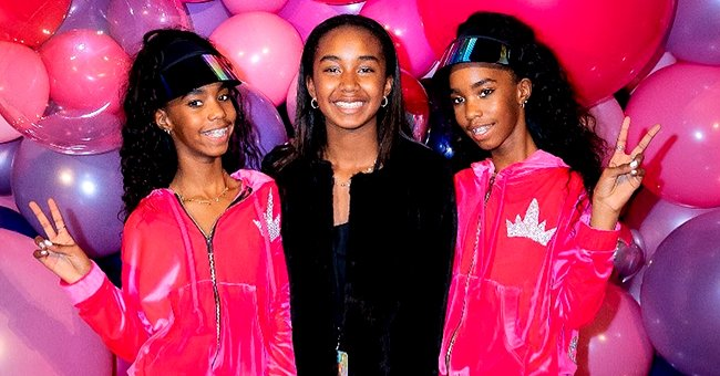 Diddy's Daughter Chance Shares Sweet Photo with Twin Sisters as She Celebrates Their 13th B-Day