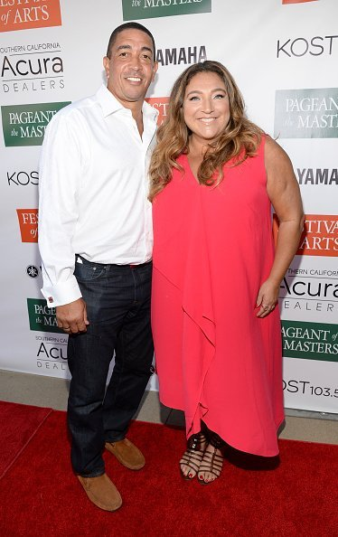 Jo Frost and Darrin Jackson on August 27, 2016 in Laguna Beach, California. | Photo: Getty Images