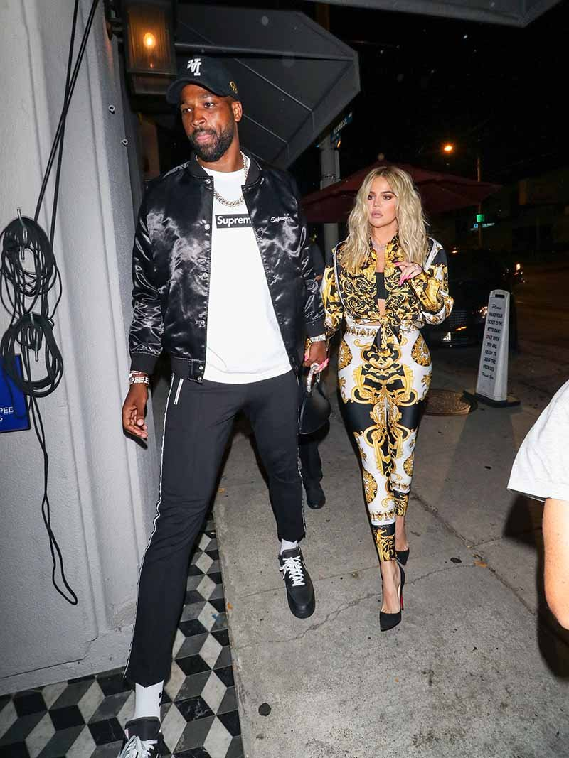 Khloe Kardashian and Tristan Thompson are seen on August 17, 2018 in Los Angeles, CA. I Image: Getty Images.