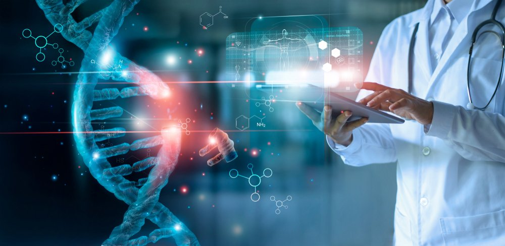 A photo of a scientist working on advanced technology | Photo: Shutterstock